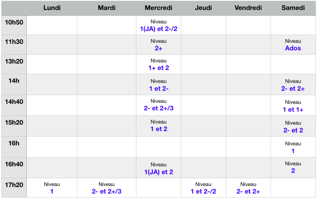horaires-cours